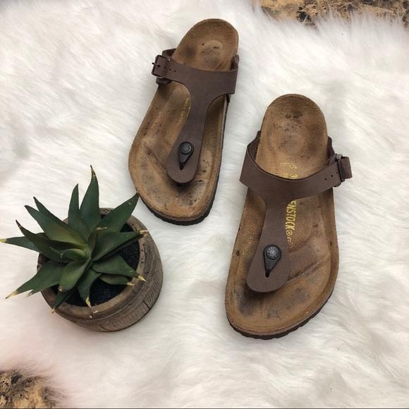 bf34a20bae7e Birkenstock Shoes - BIRKENSTOCK Gizeh Sandals Mocha Taupe